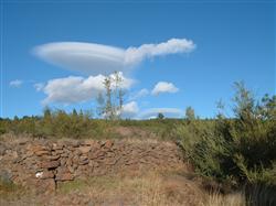 interessante Wolken auf Teneriffa