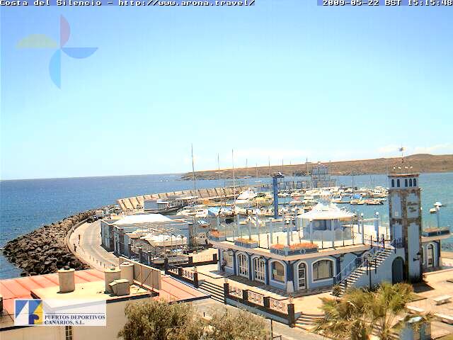 LasGalletas2 -  - Webcam Las Galletas (Arona)