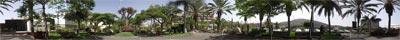 Panorama Foto im Zentrum von Los Cristianos