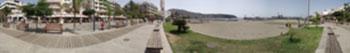Panorama Foto der Promenade von Los Cristianos