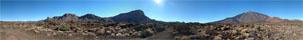 Panorama Foto vom Nationalpark auf Teneriffas