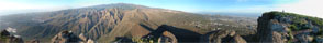 Panorama Foto Mesa del Conded im Süden Teneriffas