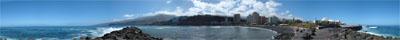 Panorama Foto Roque Imoque auf Teneriffas