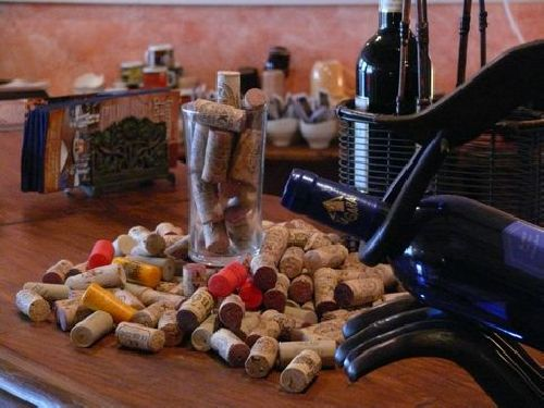 Weinprobe in der Tasca Tierras del Sur in Granadilla