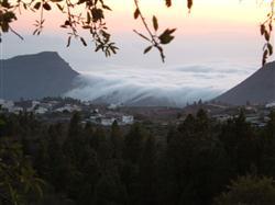 Passatwolken bei Arona auf Teneriffa