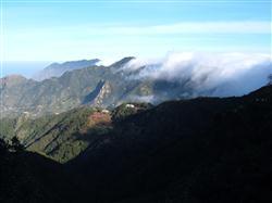Passatwolken bei Taborno auf Teneriffa
