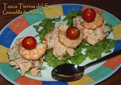 Ziegenkäse mit Tomatensalat