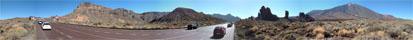 Panorama Foto Roque de Garcia auf Teneriffas