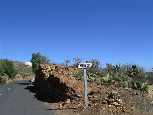 Ortschaft Teguedite - Bild 1