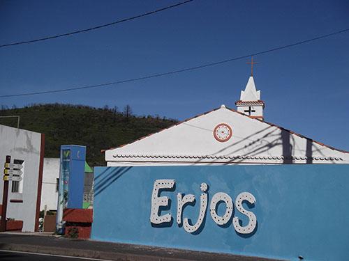 Ortschaft Erjos del Tanque  - Bild 1
