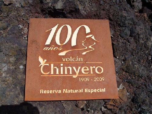 Chinyero letzter Ausbruch 1909