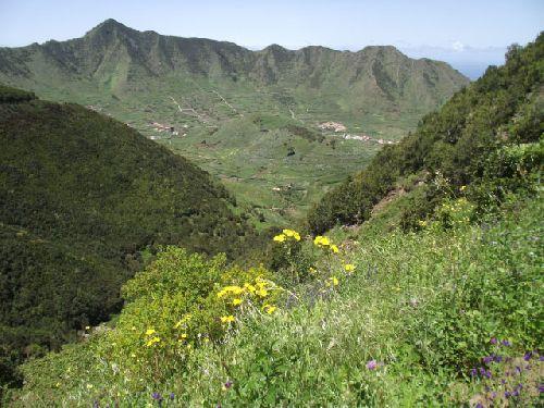 Blick ins Tenogebirge bei Las Portelas